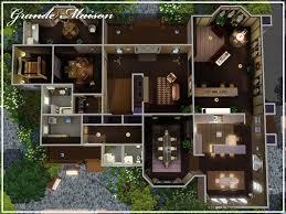 mod the sims grande maison