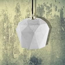 Geometric Pendant Light by E2 Contract Lighting Products Light Concrete Geometric Pendant