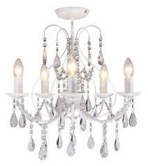 Bhs Chandelier Lighting Luxury White 5 Light Ceiling Chandelier Light Lounge Bhs