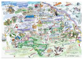 Yorkshire Map Resources North York Moors Tourism