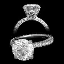 michael b engagement rings michael b jewelry princess cut engagement ring