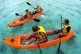 shore excursion glass bottom kayak and snorkel adventure