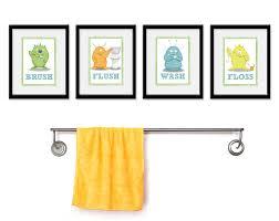 restroom wall decor
