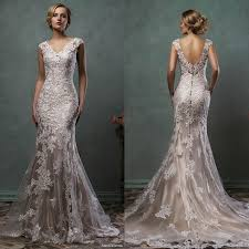 Vintage Lace Wedding Dress Champagne Lace Wedding Dress Wedding Dresses Wedding Ideas And