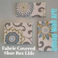 How To Decorate A Shoebox How To Decorate A Box With Fabric Home Design Judea Us