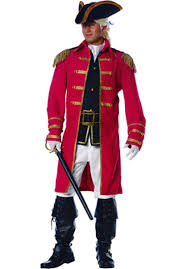 british halloween costumes red coat costume escapade uk
