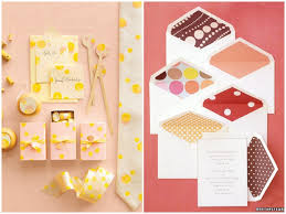 polka dot stationery inspired by these polka dot wedding details inspired by this