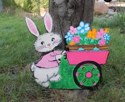Easter Bunny Lawn Decorations by Bunny Garden Decor U2013 Home Design And Decorating