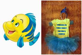 diy mermaid flounder costume www cupofdelight blogspot