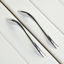 chrome kitchen cabinet handles modern bathroom kitchen drawer pull handles silver chrome dresser