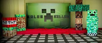 minecraft backdrop the top 10 best blogs on minecraft party ideas