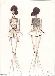 fashion designs sketches for girls latest fashion style