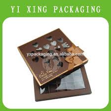 boite emballage cadeau en carton chocolat emballage cadeau boîte de truffes rigide carton papier