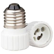 Gu10 Light Fixture 5 Pack Gu10 To E26 Bulb Adapter Use This Adapter To A Gu10