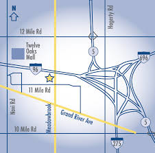 Livonia Michigan Map by Walsh College Locations Campus Locations Walsh College Campuses