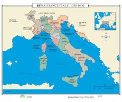 Milan Italy Map 137 Renaissance Italy 1350 1600 U2013 Kappa Map Group