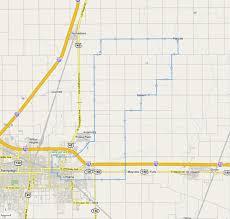 Champaign Illinois Map by Urbana Champaign Bike Ride
