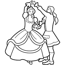 Colouring Pages Princess And Prince Coloring Pages Dancing Prince Colouring Pages by Colouring Pages