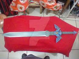 Master Sword Papercraft - master sword size papercraft by darkrockerrus on deviantart