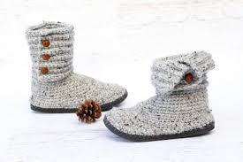 ugg crochet slippers sale how to crochet boots with flip flops free pattern