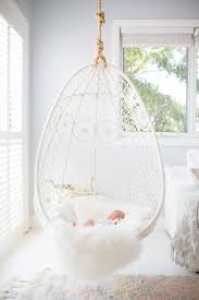 hanging pod chair for bedroom papasan bubble under double rattan