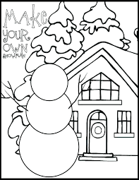 january coloring pages for kindergarten free winter coloring pages for kindergarten cheap free winter