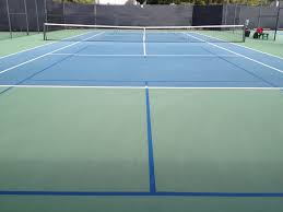 tennis courts with lights near me can pickleball be played on a tennis court
