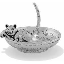 ceramic cat ring holder images Kitty kaddy tray vanity fair jpg