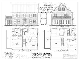 duxbury colonial vermont frames