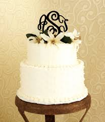 wedding cake topper for your big day initial outfitters