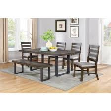 6 pc dining table set dining room dining room sets murphy 107300 6 pc dining set at