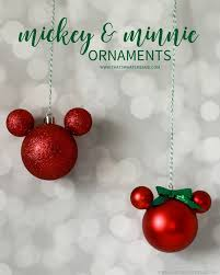 that s what che said easy diy mickey mouse ornament