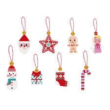 janod 8 christmas decorations jojo maman bebe