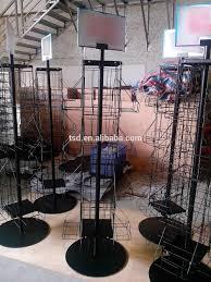 tsd m408 custom free standing pos rotating metal wire comic book