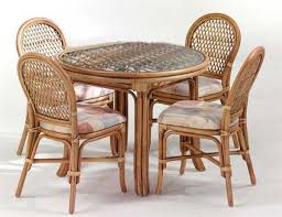 Rattan Kitchen Table by Cane Furniture Cane Dining Set Rattan Dining Set And Bamboo