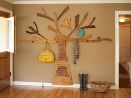 rustic wall decor for living room cheap wooden tree decoration