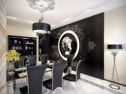 Black And White Dining Room Sets Black And White Dining Room Designs