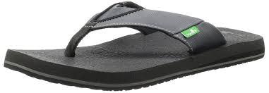 Most Comfortable Flip Flops For Women Amazon Com Sanuk Men U0027s Beer Cozy Flip Flop Sandals