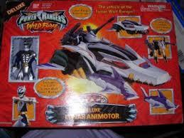 buy power rangers wild force deluxe lunar animotor lunar wolf