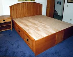 Full Size Captains Bed With Drawers Pedestal Beds
