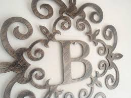 metal wall letters home decor letter b wall art decorative metal wall letters large metal