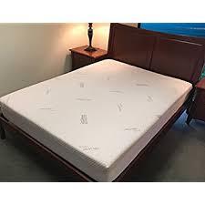 amazon com memory foam mattress protector u2013 organic cotton with