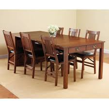 collapsible dining table and chairs oval wood lira 7 piece