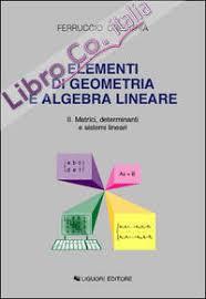 dispense algebra lineare 9788879994279 artale 2005 dispense corso di geometria