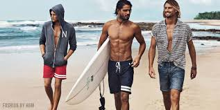 mens beach fashion trends of the summer