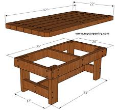 Coffee Table Plans Coffee Table Plans