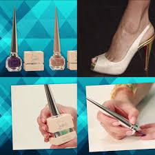 review u0026 demo christian louboutin u0027s stiletto inspired nail polish
