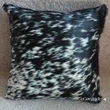 Cowhide Pillows Cowhide Pillows Zebra Leopard Ecowhides Com