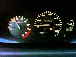 my 95 civic coupe speedometer problem youtube