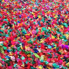 Tapis Salon Multicolore by Colors Le Tapis Multicolore Shaggy